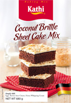 Coconut Brittle Sheet Cake Mix